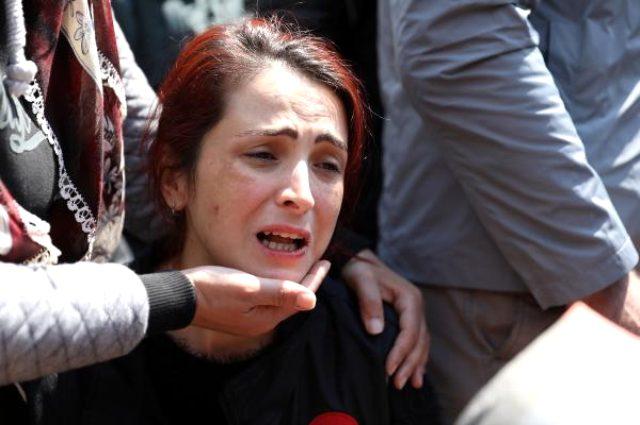 Şehit olan Narkotik polisi baba evine getirildi: Benim eşim kahramanca şehit oldu