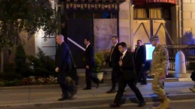 ABD'deki protestolarda, Savunma Bakanı ve Genelkurmay Başkanı sokağa indi
