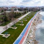 Beyşehir'deki sahil, park ve mesire yerleri yeni normalleşme sürecine hazır
