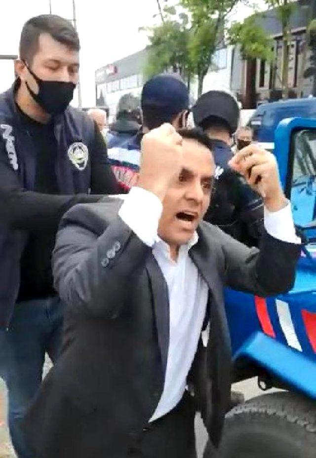 CHP Meclis Üyesi Şahin Sevinç'in 'Tokadı yersin' dediği zabıtaya arkadaşı tokat attı