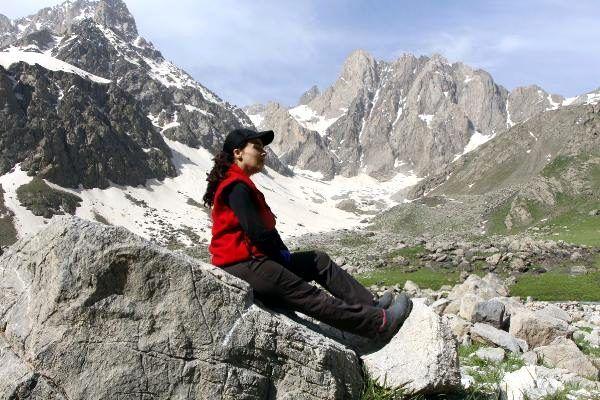 Dağcılar, normalleşme süreciyle 4 bin 135 rakımlı Cilo Sat Dağları'na çıktı