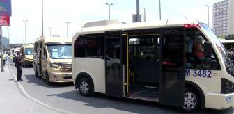 Son dakika haber: İSTANBUL-Minibüsler baştan aşağı dezenfekte edildi