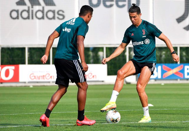 Ronaldo'nun fiziksel verileri, koronavirüs öncesine göre daha yüksek çıktı