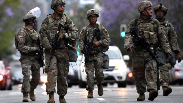 Irkçılık karşıtı eylemlerde yasalar, Trump'ın elini güçlendiriyor: Orduyu sokağa çıkarabilir