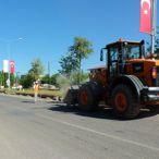 Malazgirt-Bulanık kara yolu kenarındaki çöpler toplandı