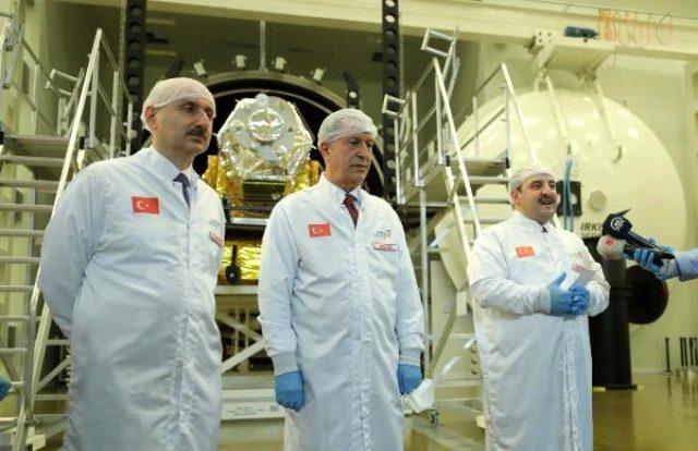 Türkiye'nin ilk yerli ve milli yer gözlem uydusu gelecek yıl uzaya fırlatılacak
