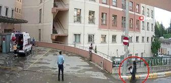 Zafer Demir: Korona olduğunu bilmesine rağmen boynundaki atkıyı hastane girişine böyle astı