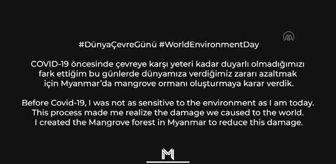 Merih Demiral'dan 5 Haziran Dünya Çevre günü mesajı