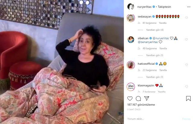 1 ay önce hayatını kaybeden Nur Yerlitaş'ın son görüntüleri ortaya çıktı