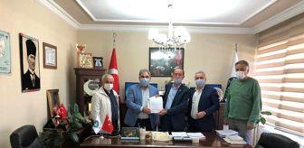 Hasan Basri: Küçük sanayi sitesi için imzalar atıldı