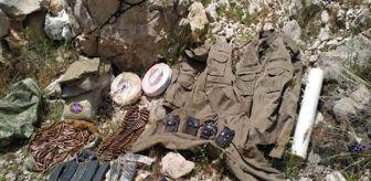 Çitlibahçe: Diyarbakır'da PKK'nın lav silahı ve uyuşturucu ele geçirildi