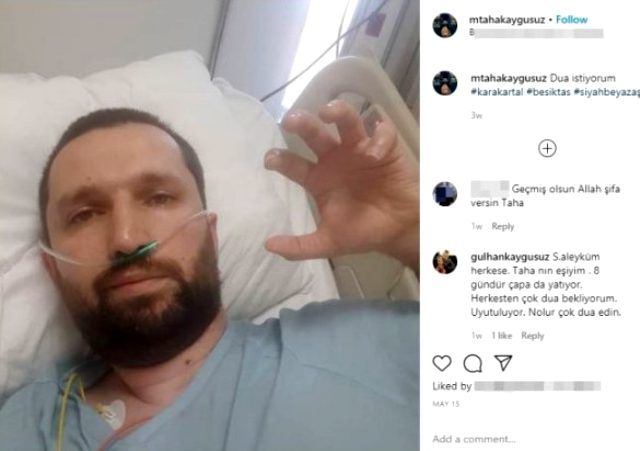Koronadan ölen 27 yaşındaki gençten geriye iki kelimelik mesajı kaldı: Dua istiyorum
