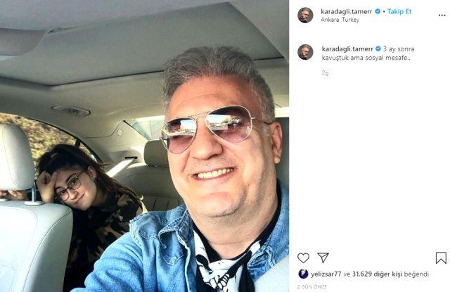 Tamer Karadağlı, 3 ay sonra kızına kavuştu
