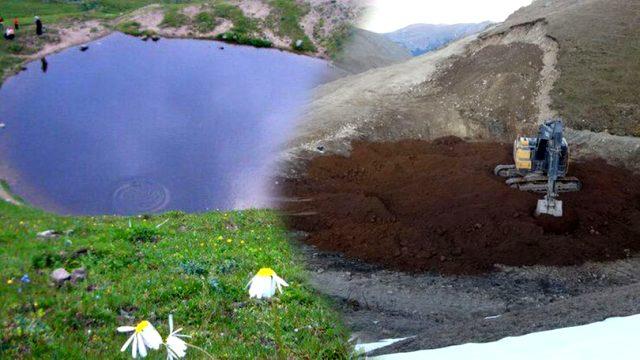 Define söylentisine kurban edilen Dipsiz Göl, yeniden su tutmaya başladı