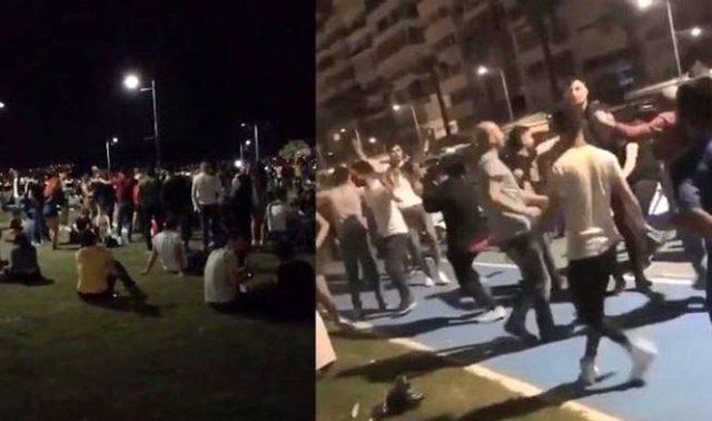İzmir Kordon'daki korona halayına 25 bin lira ceza kesildi