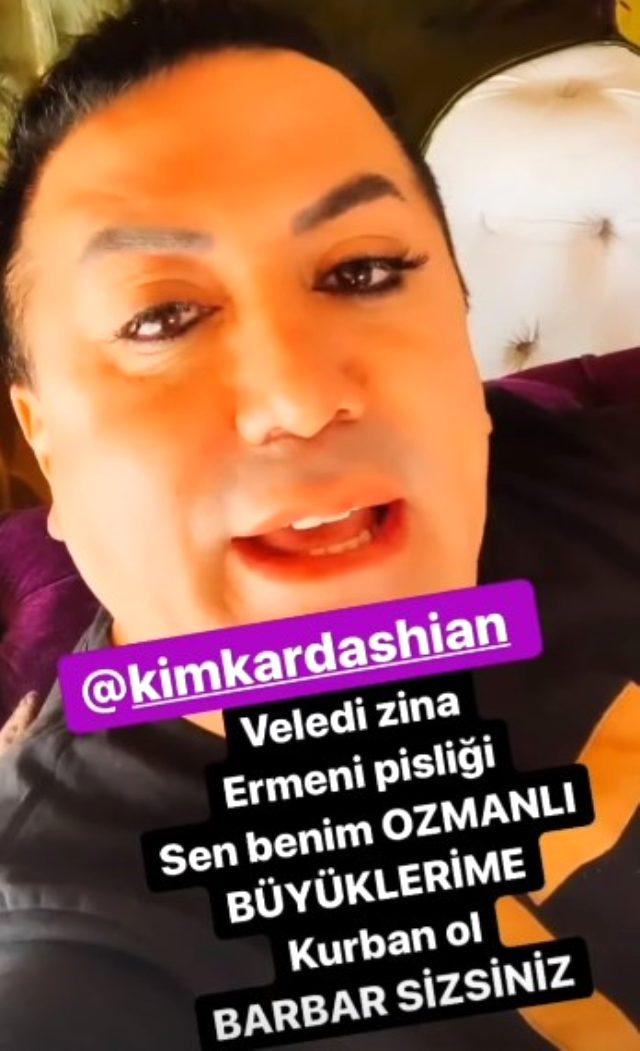 Kim Kardashian'ı eleştiren Fenomen Murat Övüç, Ermenilerle ilgili sözlerinden dolayı ifade verdi
