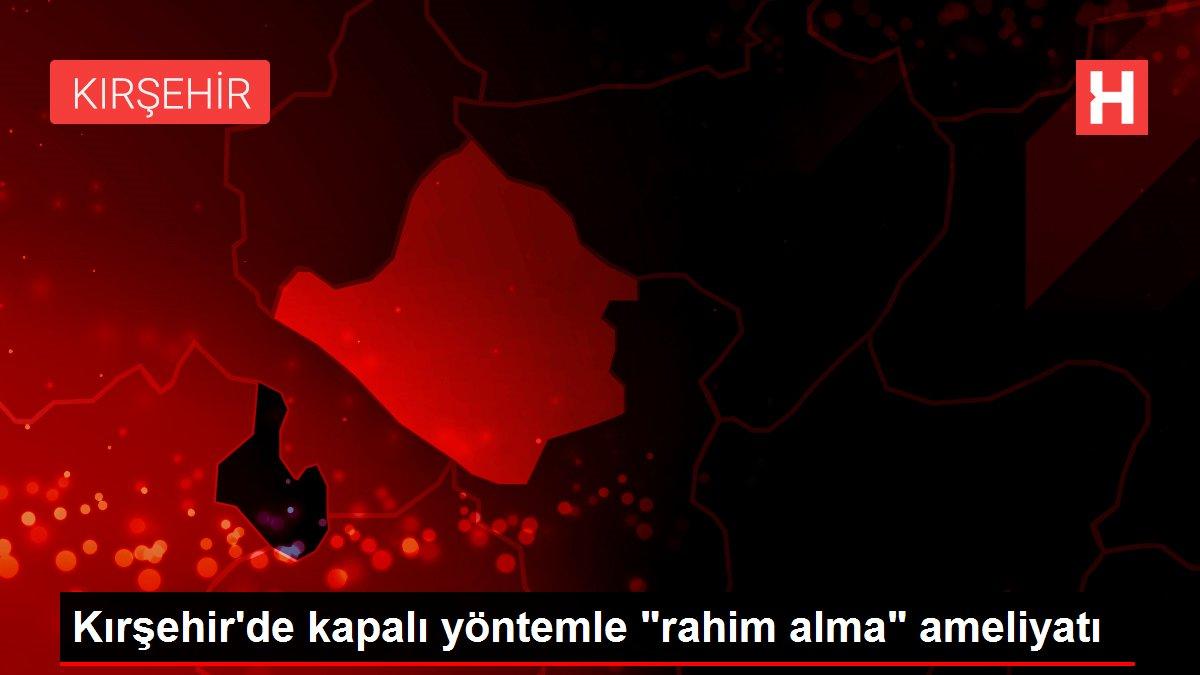 Kırşehir'de kapalı yöntemle