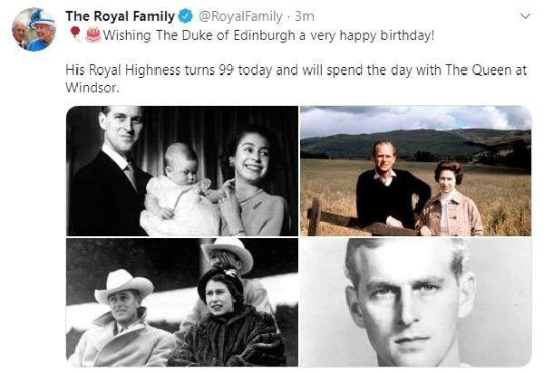 İngiltere'de Kraliçe Elizabeth'in eşi Prens Philip, 99'uncu yaşına girdi