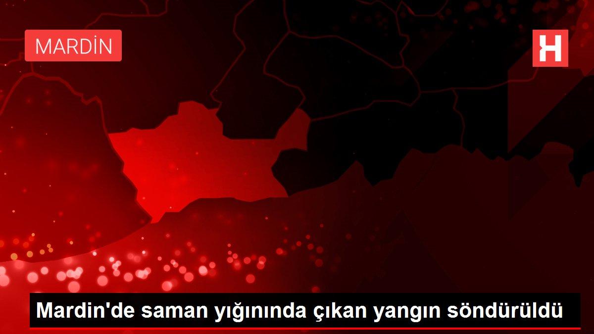 Mardin'de saman yığınında çıkan yangın söndürüldü