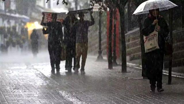 Meteoroloji, 20 il için sarı kodla kuvvetli yağış uyarısında bulundu