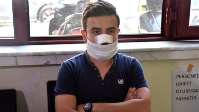 Sağlık çalışanı hasta yakınları tarafından darp edildi! O anlar güvenlik kameralarına yansıdı