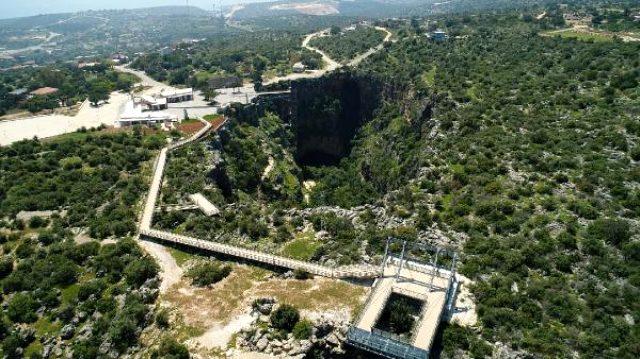 Mersin Valiliği, Cennet-Cehennem obruklarına yapılan asansörü savundu