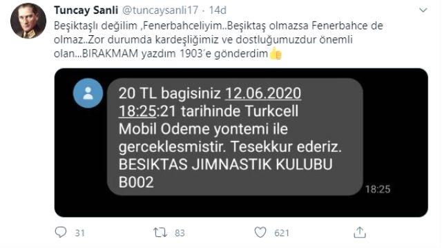 Cem Yılmaz ve Ekrem İmamoğlu'ndan Beşiktaş'ın kampanyasına destek
