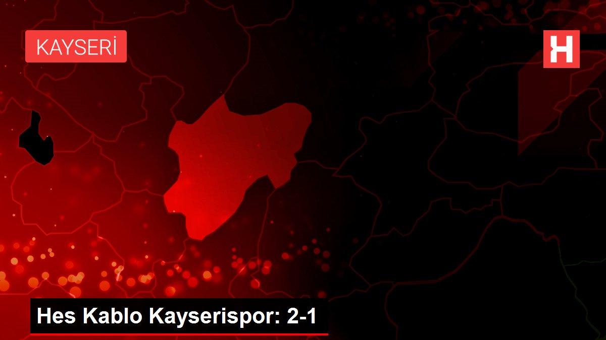 Hes Kablo Kayserispor: 2-1