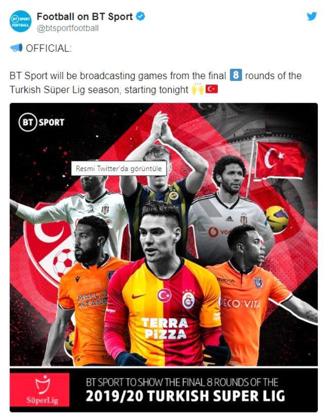 Süper Lig maçları ilk kez Birleşik Krallık kanalında yabancı dilde yayımlanacak