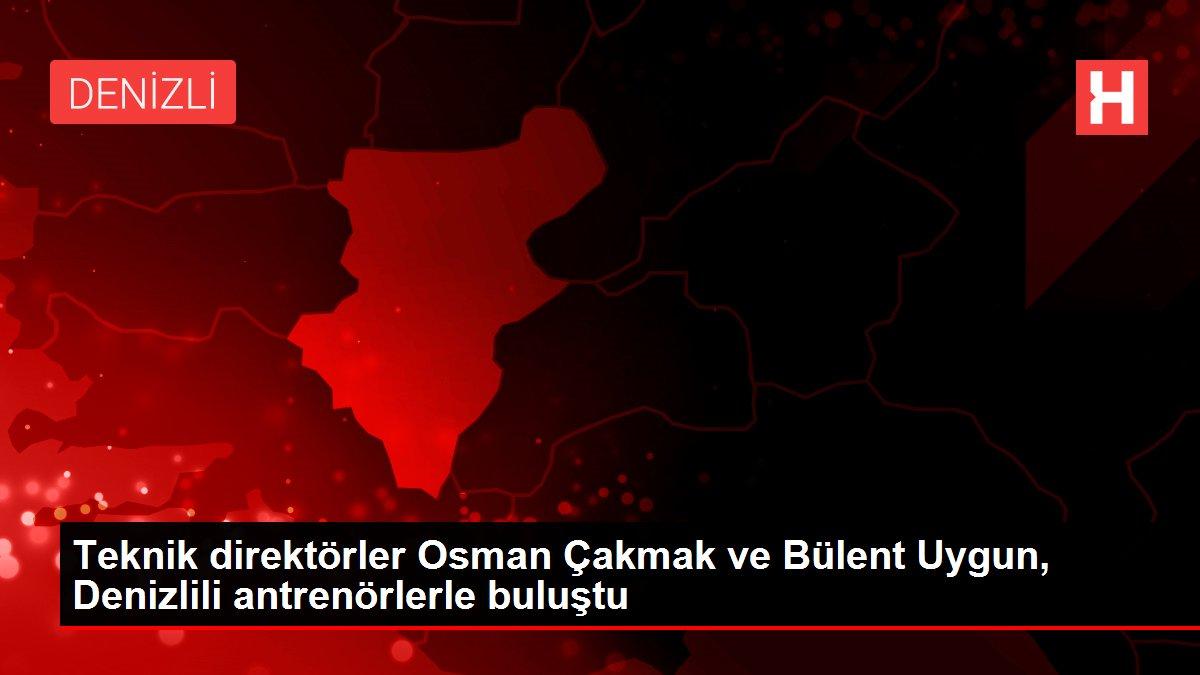 Son dakika haberleri: Teknik direktörler Osman Çakmak ve Bülent Uygun, Denizlili antrenörlerle buluştu