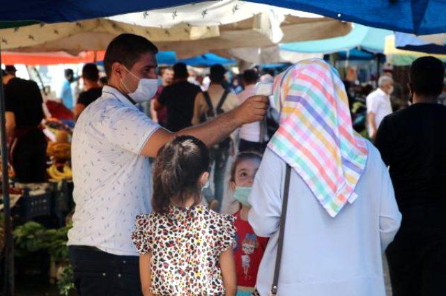 Vaka sayısının arttığı Diyarbakır'da sosyal mesafe unutuldu