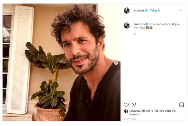 Yakışıklı oyuncu Barış Arduç, yeni imajını Instagram hesabından paylaştı