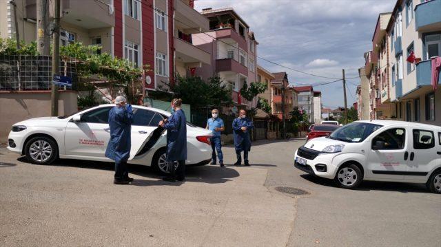 Gebze'de 20 kişinin koronavirüse yakalandığı sokak karantinaya alındı