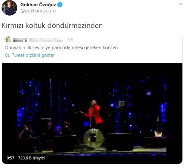 Mihriban şarkısını okuyan Demet Akalın'ın performansı beğenilmeyince Twitter'da trend oldu