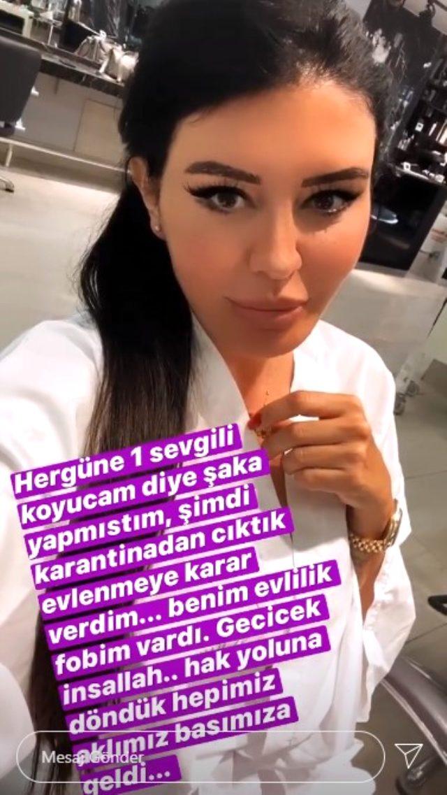Ünlü şarkıcı Ebru Polat, hayranıyla evlenmeye karar verdi