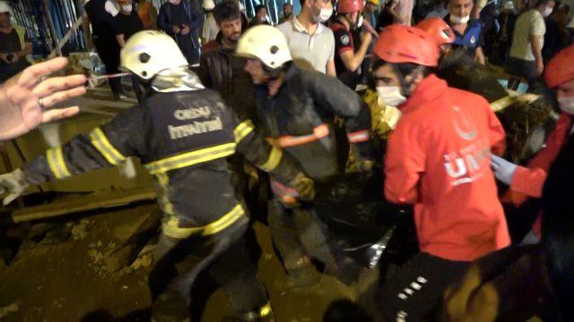 Ordu'da otel inşaatı çöktü, bir işçi hayatını kaybetti