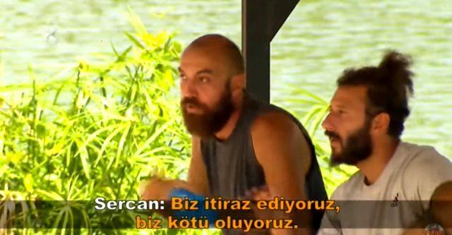Aylar önce aşk iddialarıyla gündeme gelen Sercan ve Nisa birbirine girdi
