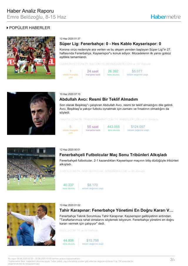 Habermetre 8 Haziran - 15 Haziran arası Türkiye'nin en çok konuşulan konularını ve isimlerini açıkladı! Haftalık konuşulan gündemdeki isimler!