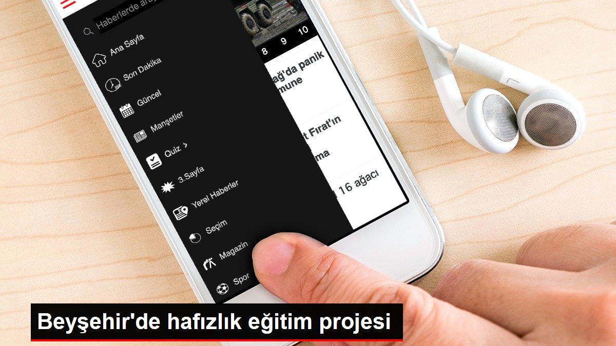 Beyşehir'de hafızlık eğitim projesi