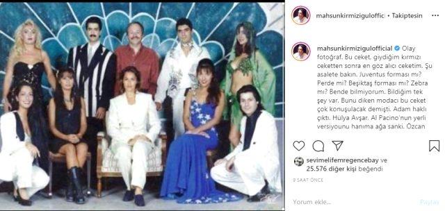 Yıllar önce çekilen fotoğrafı paylaşan Mahsun Kırmızıgül, ünlüleri ifşa etti