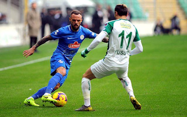 Fenerbahçe, Rizespor forması giyen Mykola Morozyuk'la prensipte anlaştı