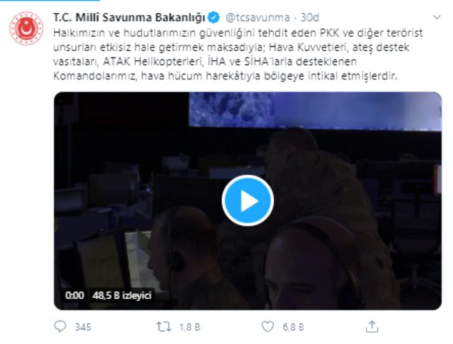 Pençe-Kaplan Operasyonu başladı! Komandolar Haftanin'e intikal etti