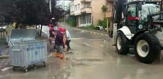 Turgut Özal: KOCAELİ Dilovası'nda yağmur su baskınlara neden oldu