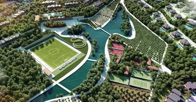 Galatasaray'ın Riva projesindeki 509 villanın 430'u satıldı