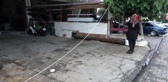 Yüksek gerilim hattı koptu, dükkanlarda elektrik panoları ve makineler yandı