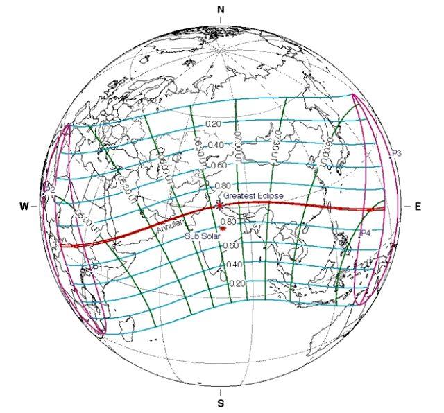 Güneş tutulması 2020 ne zaman, saat kaçta? Parçalı Güneş tutulması nedir? Halkalı Güneş tutulması nedir?