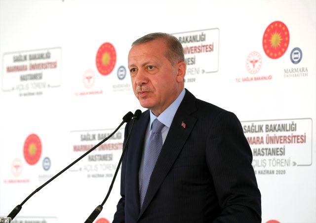 Yeni açılan Marmara Üniversitesi Hastanaesi'ne Prof. Dr. Asaf Ataseven'in ismi verildi