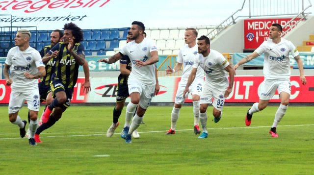 Fenerbahçe, deplasmanda Kasımpaşa'ya 2-0 mağlup oldu