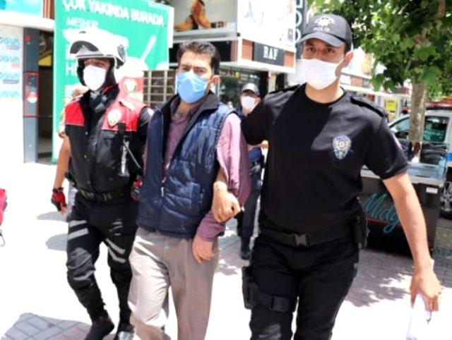 Maske cezasından kaçan vatandaş sığındığı iş merkezinde kıskıvrak yakalandı
