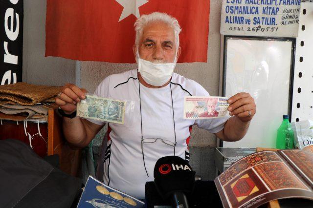 Eski paraların değeri dudak uçuklatıyor! K serili 500 TL'ler 3 bin TL'ye satılıyor